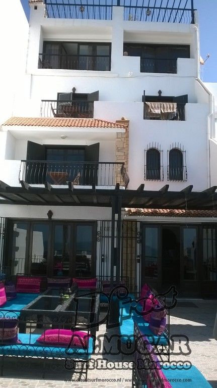 Dfrost Almugar Surf & Yoga House, Morocco Ocean front villa