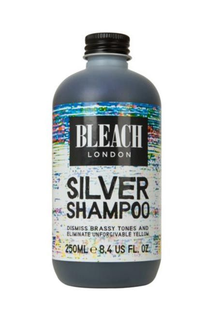 """Purple Shampoo Blonde Hair Care Tips""""If you're looking for an ethereal silver shade, leave the purple shampoo in for a little longer than usual. Pour a generous amount onto dry hair, massage in, and leave for 10 minutes. Wash again with silver shampoo and treat with a silver conditioner."""""""