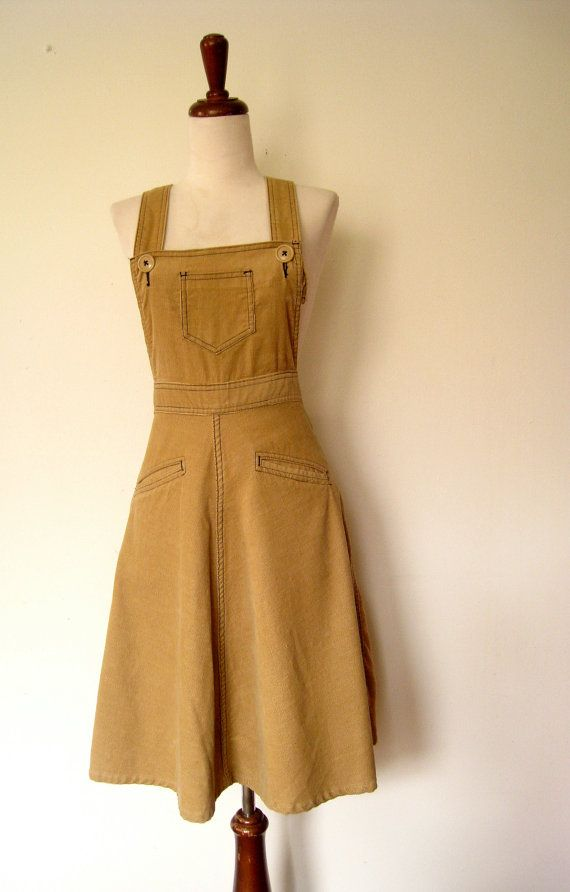 corduroy jumper dress, this is exactly what I want wish I could find one