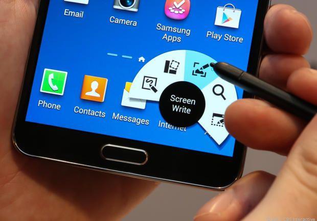 Samsung Galaxy Note 3 via @CNET