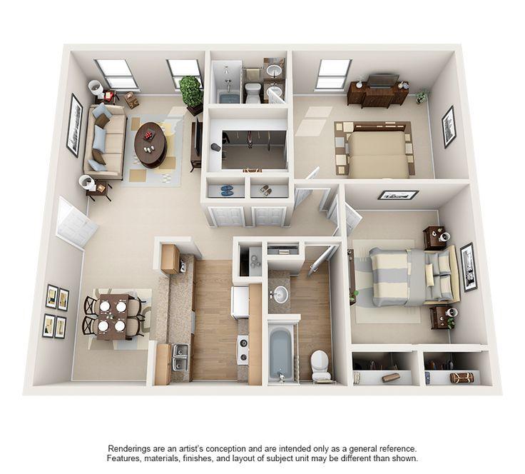 Luxury 1 2 Bedroom Apartments In Bellaire Floor Plans Houston Texas Apartment Apartment Floor Plans 2 Bedroom Apartment Floor Plan Apartment Layout