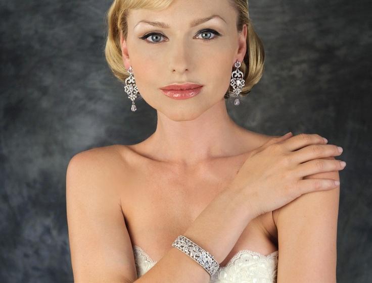 Vintage Chandelier Earrings B103 | Bridal Jewelry | TejaniVintage Chandeliers, Chandeliers Earrings, Chandelier Earrings, Chand Earrings, Earrings B103