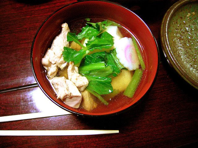 Ozoni - a quintessential Japanese New Year's soup
