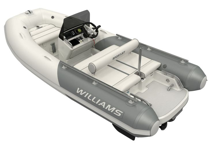 Inboard inflatable boat / side console / sport / semi-rigid SPORTJET 400 Williams Performance Tenders