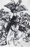 "New artwork for sale! - "" Coat Of Arms With Lion And Rooster 1500 by Durer Albrecht "" - http://ift.tt/2AwQ7UH"