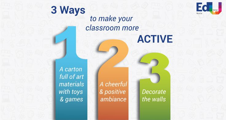 3 Ways to make your Classroom more Active. #EdusenseNote