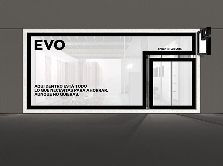 Bank identity black and white. Saffron Brand Consultants | - Work - Evo