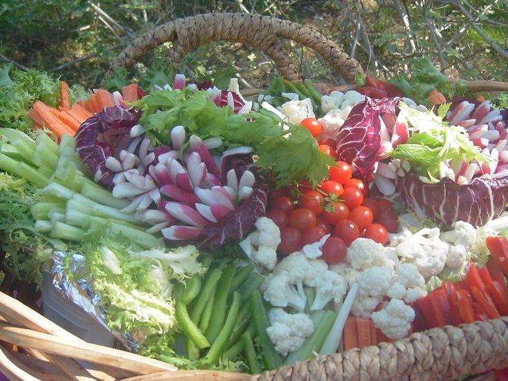 Corbeille de Légumes crus