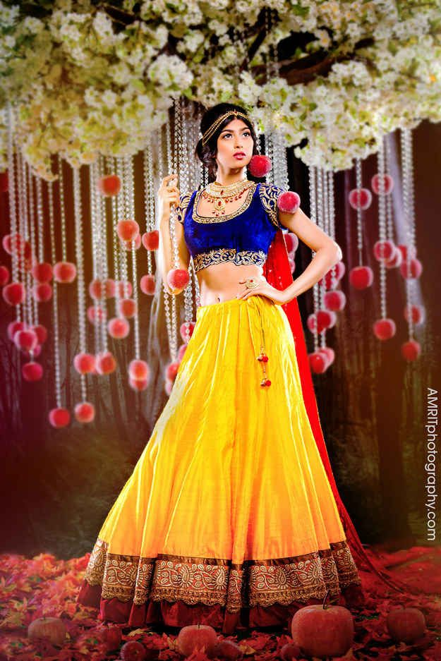 9 Stunning Photographs That Reimagine Disney Princesses As Indian Brides ~ So many of these are positively gorgeous!!!!!!