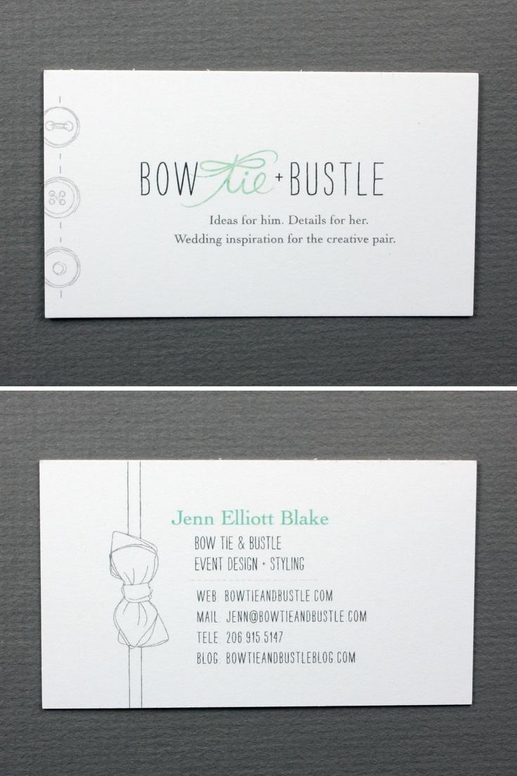 166 best alt design summit 2012 business cards images on bow tie bustle jenn elliott blake boetieandbustle cool business cardsbow magicingreecefo Images