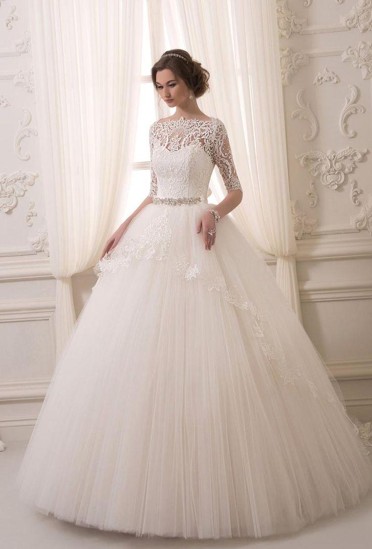 Свадебные пышные платья 2016 фото…