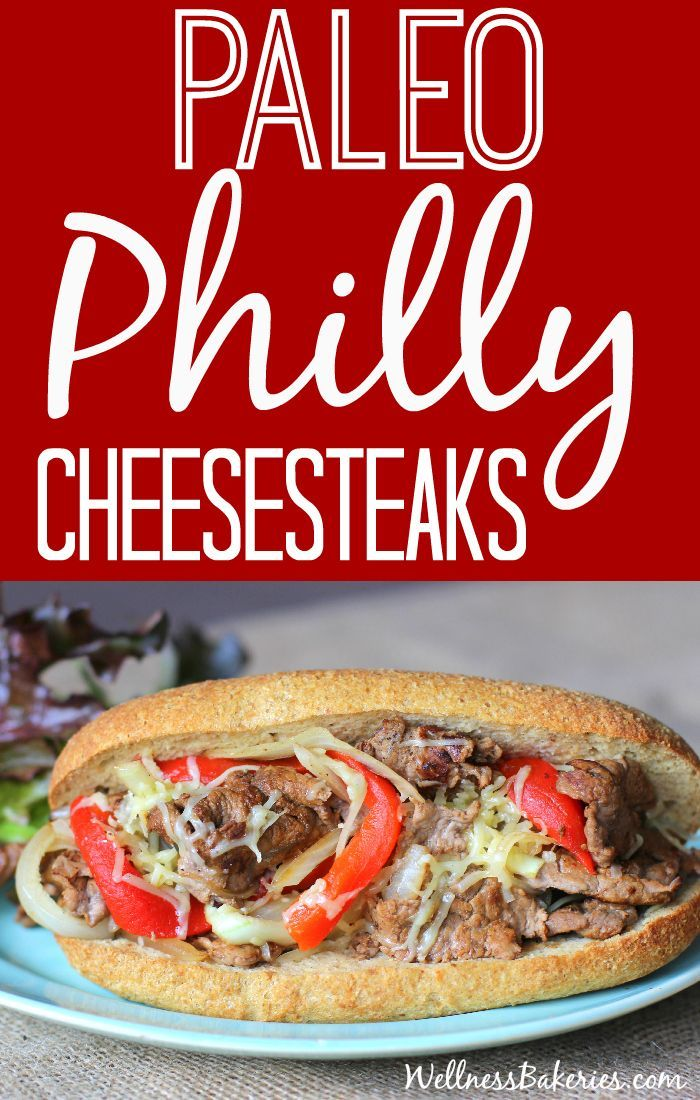 Gone Paleo, miss Cheesesteaks? Try our real deal Paleo Philly Cheesesteak subs. They're grain-free, low-carb and take just 10 minutes of prep!