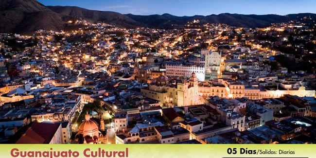 Guanajuatoes uno de los lugares más hermosos y culturales de México. Excel Tours Xalapa te lleva a este destino.