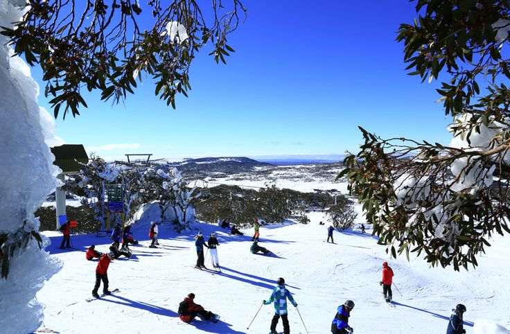 Snow Australia - skiing and snowboarding at Perisher Resort in the Snowy Mountains of New South Wales, Australia #snowaus