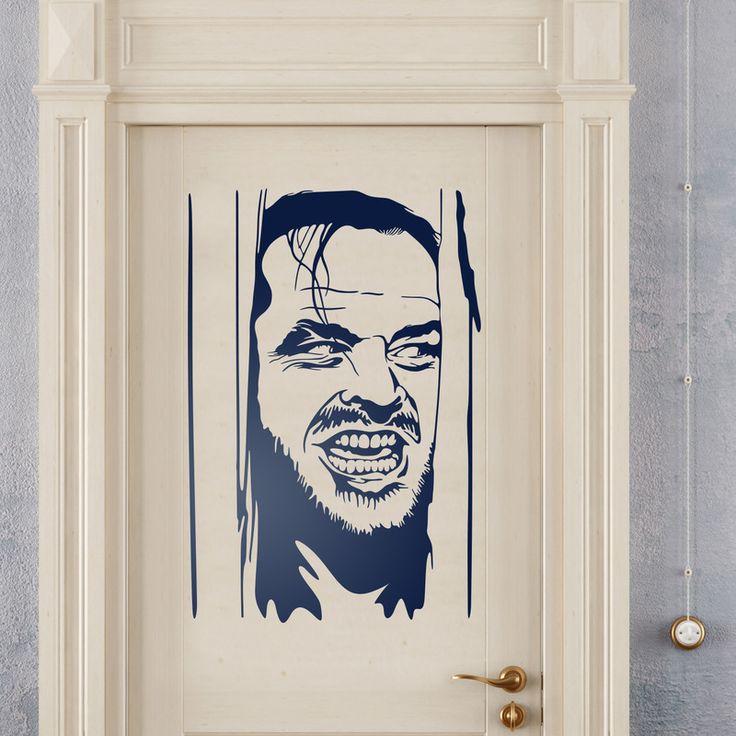 Vinilo decorativo puerta: El Resplandor #resplandor #shine #nicholson #cine #vinilo #decoracion #puerta #TeleAdhesivo