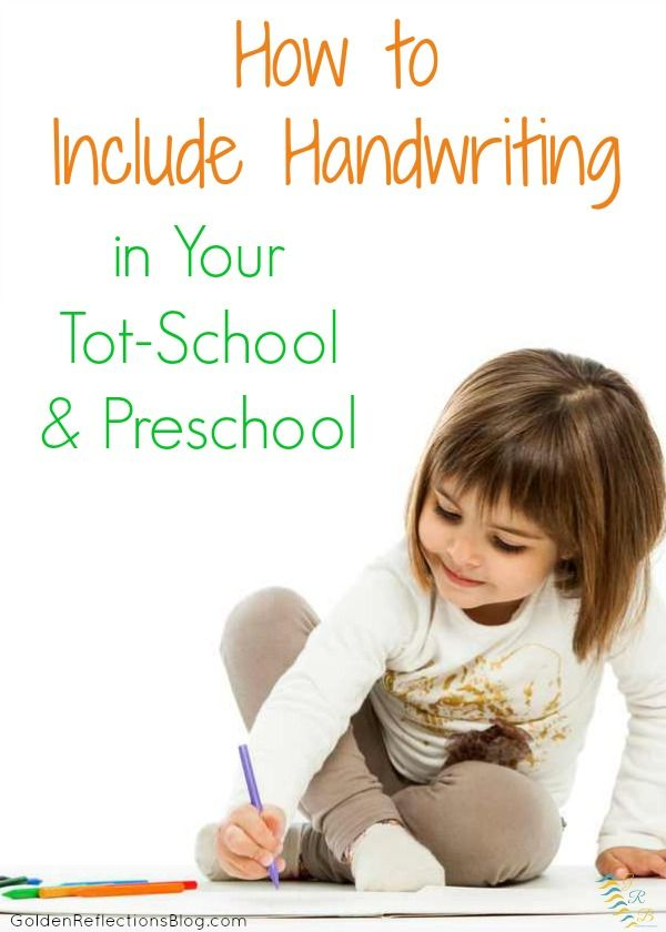 Not sure how to include handwriting skills in your toddler or preschoolers day? Come get some hands-on, fun ideas!