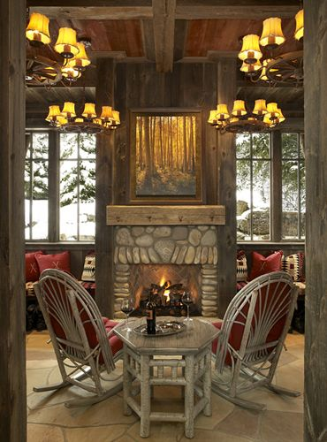 Baby, it's Cold Outside – Pull Up a (Rustic) Chair Next to the Fire!