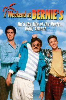 Weekend at Bernies (1989) Poster