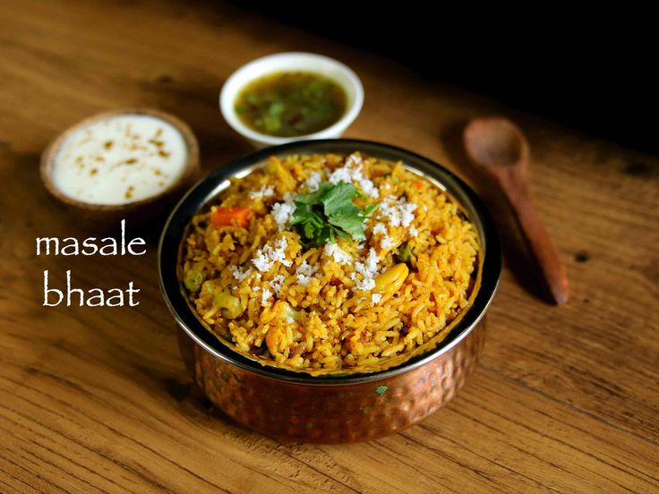masale bhat recipe, masala bhaat, maharashtrian masala bhaath with step by step photo/video. traditional marathi cuisine one pot meal recipe for tiffin box.