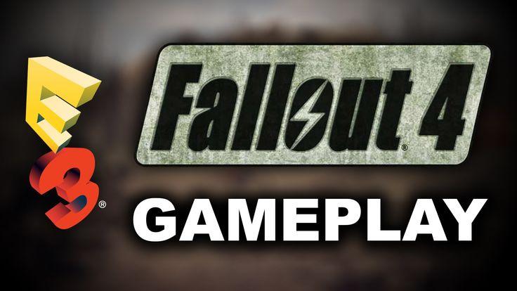 Fallout 4 E3 2015 Gameplay Walkthrough Trailer w/ Release Date & VATS Co...