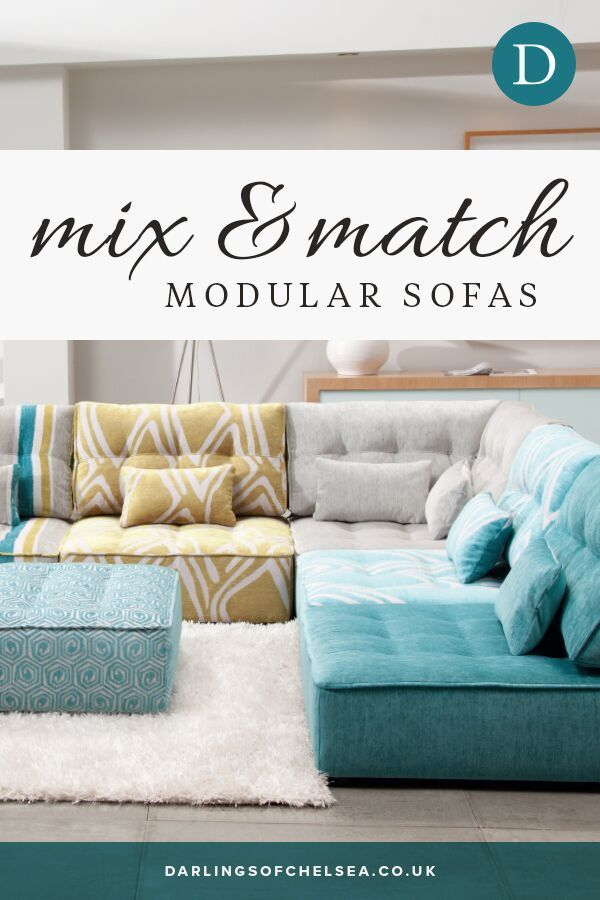 The Alice Modular Sofa Allows You To Play With Colour Mix And Match Fabrics And Designs To Help Create Your Own B Modular Sofa Modular Sofa Design Sofa Design