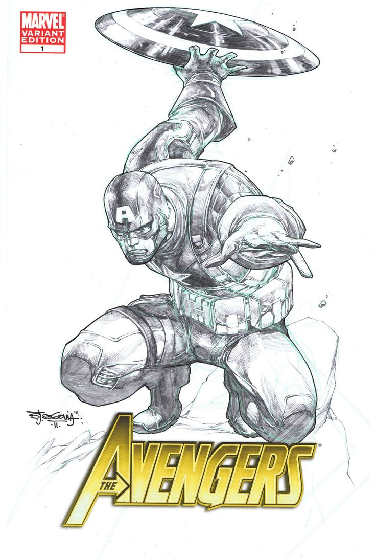 Blank cover Cap A movie sketch by *sjsegovia on deviantART