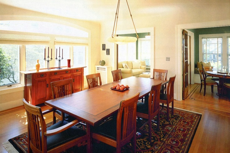 Informal Dining Room Design In The Craftsman Style. From 1 Of 11 Projects  By Knowles