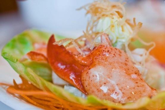 Golden Unicorn Restaurant. Dim Sum. Try the taro and turnip cakes.