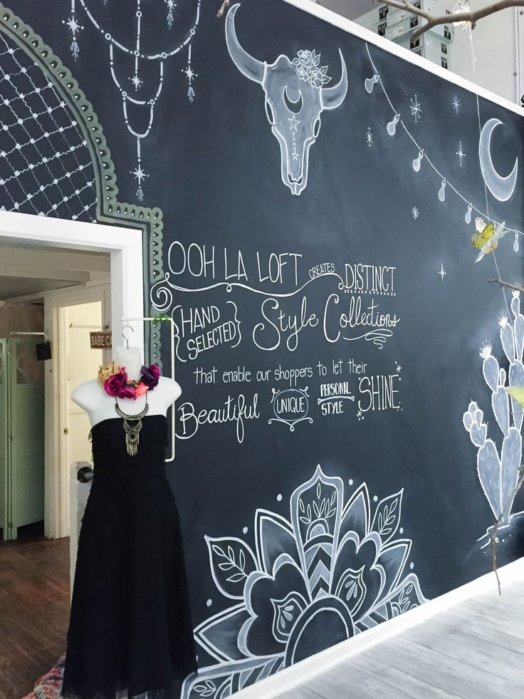 Chalkboard Art at Ooh La Loft by Katie Harvey