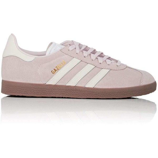 adidas Women's Women's Gazelle Suede Sneakers ($90) ❤ liked on Polyvore featuring shoes, sneakers, rubber sole shoes, lacing sneakers, suede lace up shoes, laced up shoes and retro shoes