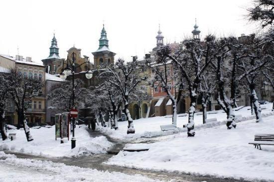 Snow in Przemysl