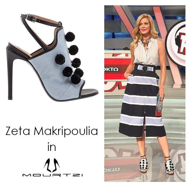 ΖΕΤΑ ΜΑΚΡΥΠΟΥΛΙΑ Zeta Makripoulia in Mourtzi www.mourtzi.com #mourtzi #kalliste #sandals #zetamakripoulia #roukzouk