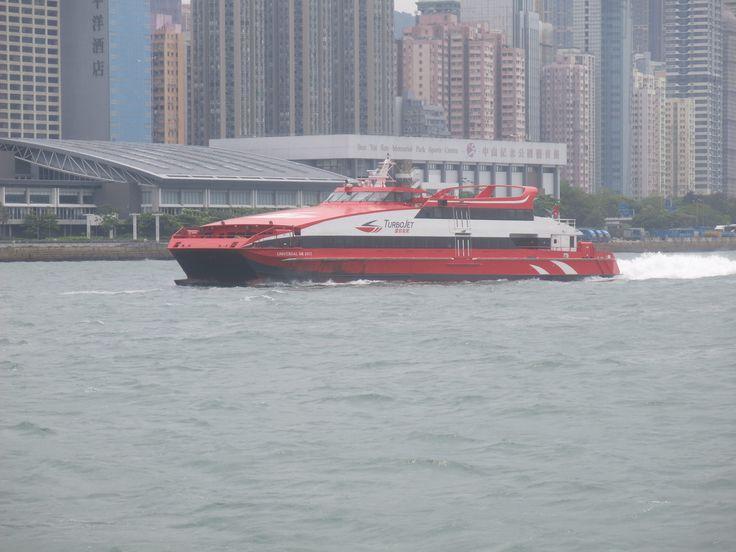https://flic.kr/p/HjCwYN | universal mk 2013 | type:high speed vessl buider:austal  fleet:austal 48m year build:2001 gross tonnage:230 deadweight:700 capacity:418 installed power 4x MTU 16V 4000 M70 diesels 4x2320kw@2000rpm 4x reintjes VLJ930 gearboxs waterjets 4x kamewa 63 sii waterjets hull no.144 ex name:new ferry lxxxi