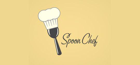 35 logos para restaurantes basados en cucharas, tenedores y cuchillos   Diego Coquillat