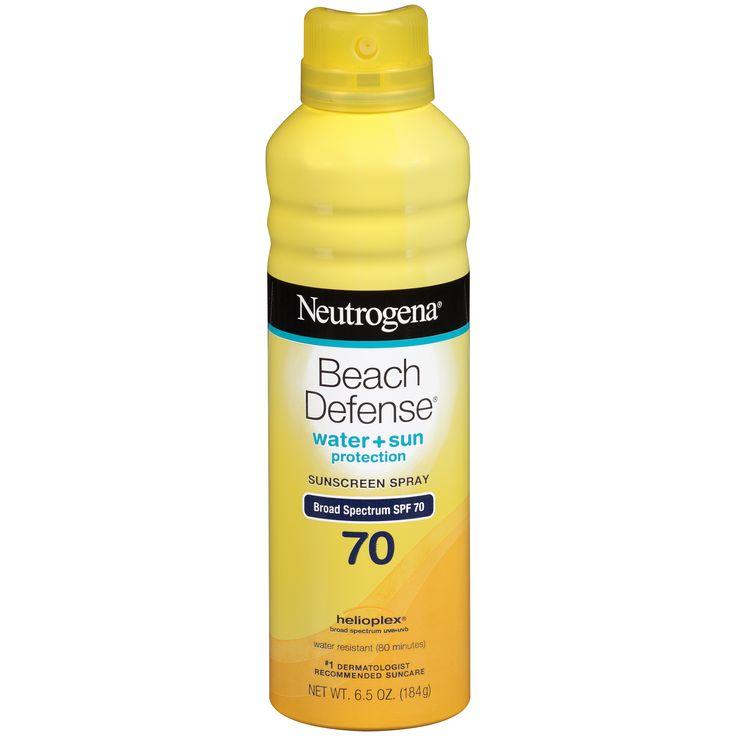 Neutrogena Beach Defense SPF 70 Sunscreen Spray 6.5 OZ Aerosol CAN