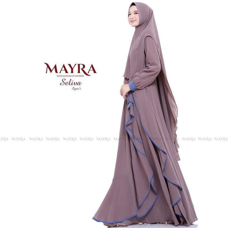 Informasi Tips Dan Foto Aneka Baju Gamis Modern Terbaru Yang Lagi Trends Mode Abaya Pola Menjahit Pakaian Desain Abaya