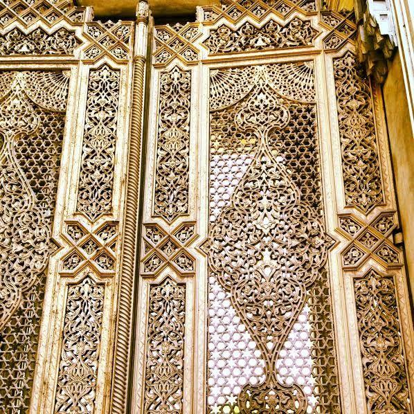 Turkish doors  photographed by: aminaeldemirdash.com