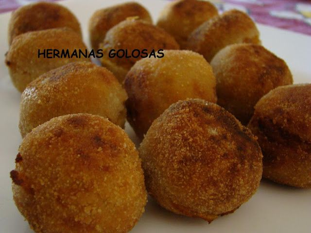 Croquetas de Calabaza, Jamón y Nueces