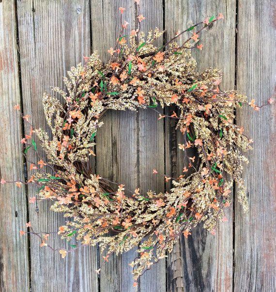 Best 25+ Fall door wreaths ideas on Pinterest | Wreaths ...
