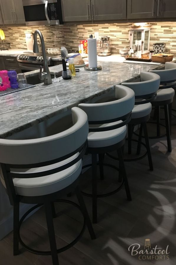 Ronny Swivel Stool Kitchen Stools With Back Swivel Stool Bar