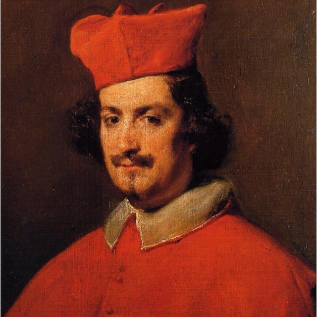 Cardinal Pamphili, by Diego Velazquez