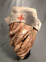 Nurse Hillary Silent Hill Creature Toxic Deformed Classic Halloween Costume Mask