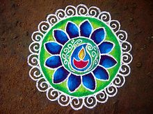 Rangoli - Wikipedia, the free encyclopedia