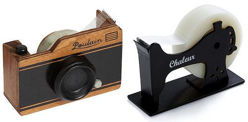Camera and Sewing Tape Dispenser