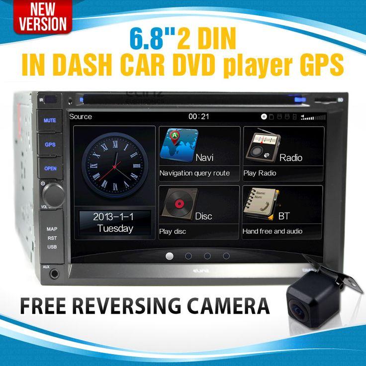 """6.8"""" LCD in car dvd  Double din head unit  Elinz"""