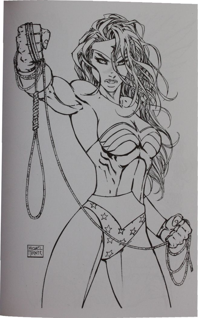 Wonder Woman   Michael Turner