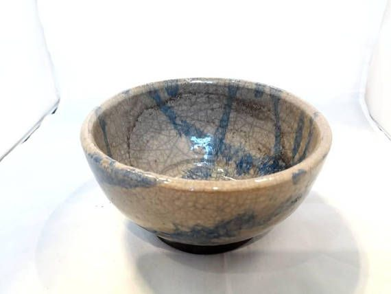 Check out this item in my Etsy shop https://www.etsy.com/listing/583731701/raku-pottery-bowl