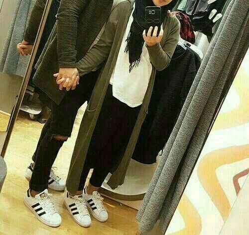 Image de love, couple, and hijab