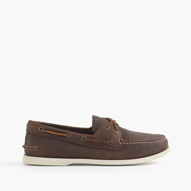 Sperry for J.Crew Authentic Original 2-eye broken-in boat shoes