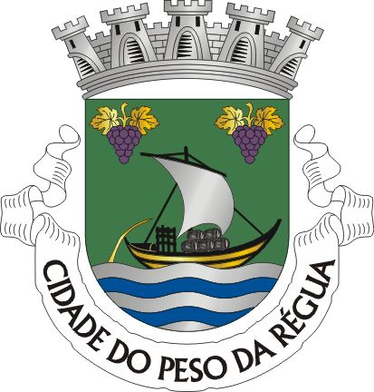 Brasão de Peso da Régua ~A Régua, correspondendo à parte baixa da actual cidade…